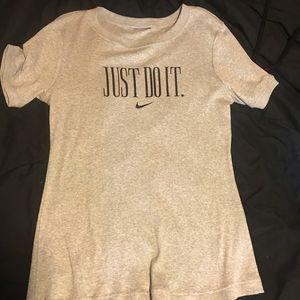 Nike Ribbed T Shirt size Medium